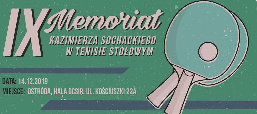 Zapraszamy do udziału w 9. Memoriale Kazimierza Sochackiego