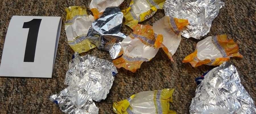 Po cukierkach zostały tylko papierki