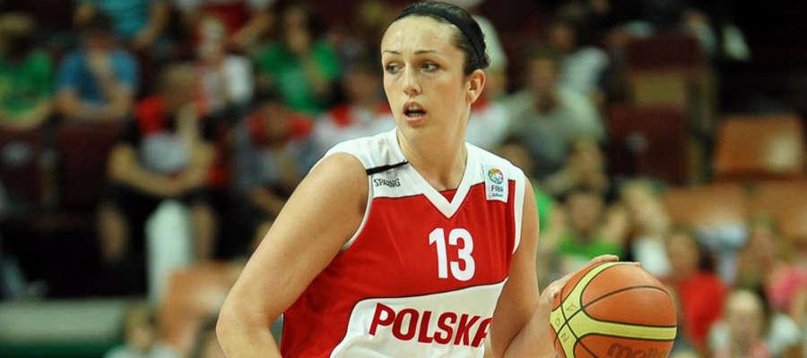 Reprezentantka Polski Krystyna Szymańska-Lara