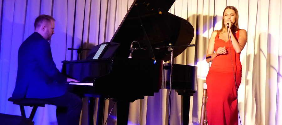 Joanna Aleksandrowicz na scenie MCK