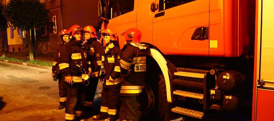 W pożarze zginęła 81-letnia mieszkanka Działdowa