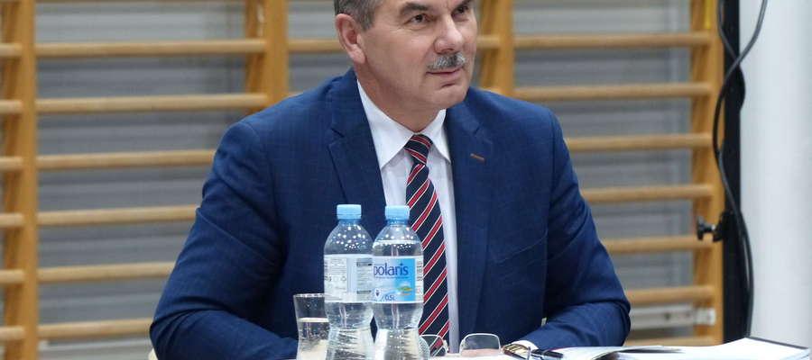 Zbigniew Włodkowski, burmistrz Orzysza