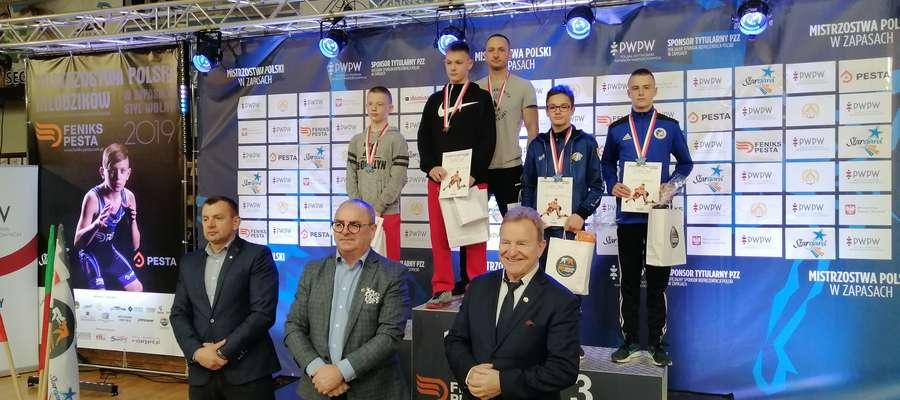 Maciej Szmyd stanął na najwyższym stopniu podium Mistrzostw Polski