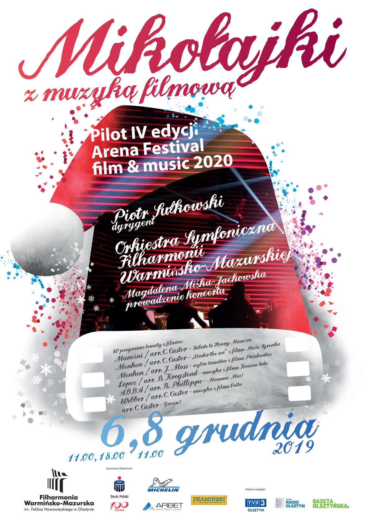Mikołajki z Muzyką Filmową w Filharmonii - full image