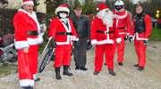 Konwój Świętego Mikołaja odwiedził dzieci