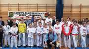 Młodzi taekwondocy z Bartoszyc zaliczyli ostatni w tym roku start