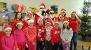 Mikołaj w szkole Galinach