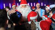 Święty Mikołaj na lodowisku Helena
