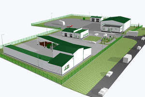 Jest umowa na budowę Punktu Selektywnego Zbierania Odpadów Komunalnych