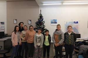 Uczniowie szkoły podstawowej odwiedzili naszą redakcję