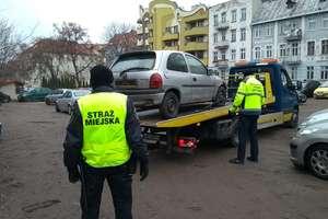 Kolejne wraki zniknęły z ulic Olsztyna