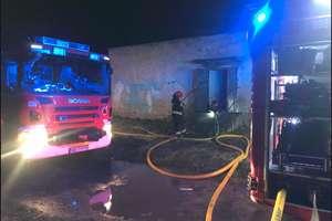 Pożar mieszkania przy ulicy Skrzydlatej w Elblągu. Jedna osoba poszkodowana.