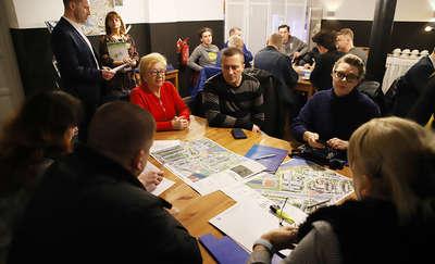 Spotkanie w ramach konsultacji dotyczących polityki parkingowej