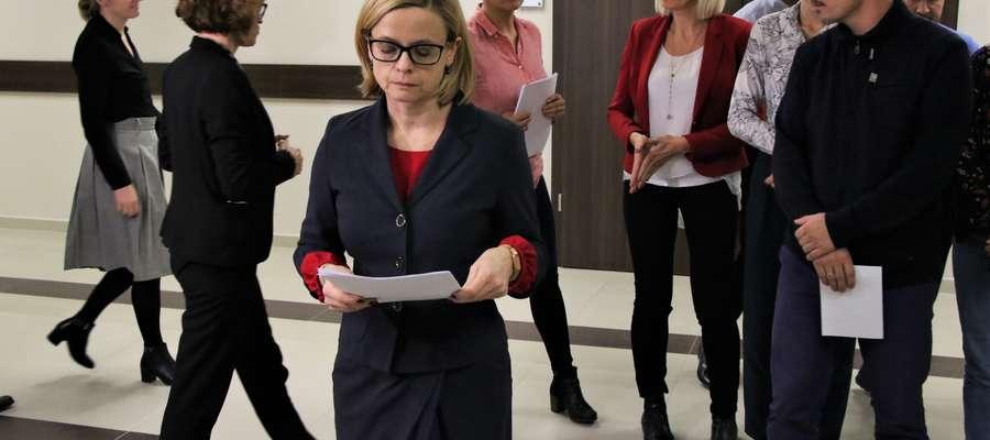 W środę po południu sędziowie zebrali się na korytarzu Sądu Rejonowego w Olsztynie