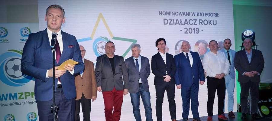 Działacze z powiatu mrągowskiego w gronie zasłużonych dla regionalnej piłki