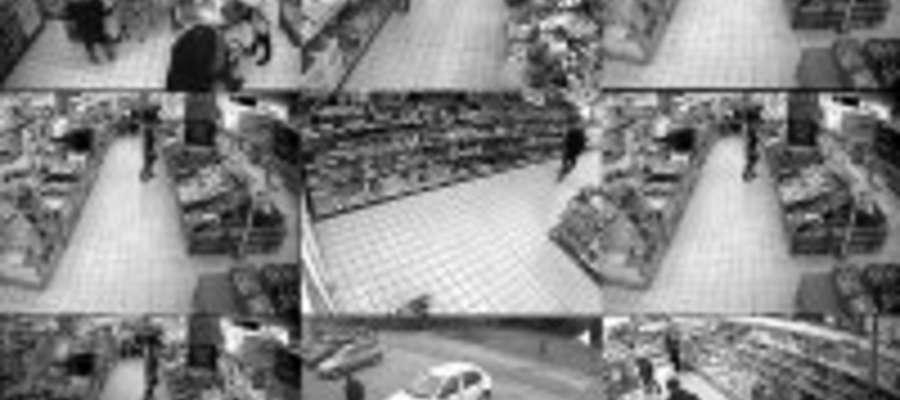 Kradzieże zarejestrowały kamery monitoringu