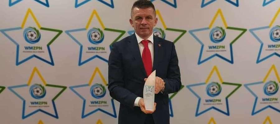 Drugi raz Bogusław Fijas odebrał nagrodę dla Piłkarskiego Samorządu Roku