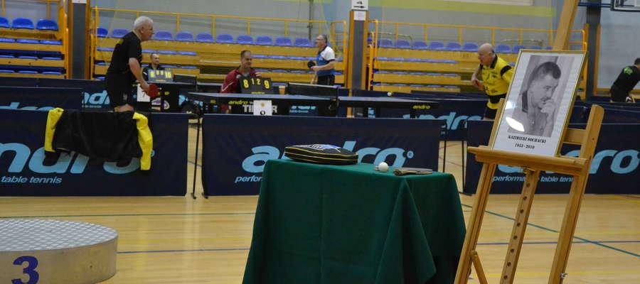 Kazimierz Sochacki do końca życia był związany z ostródzkim tenisem stołowym