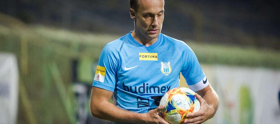 Jesienią Janusz Bucholc rozegrał 20 pierwszoligowych meczów od pierwszej do ostatniej minuty