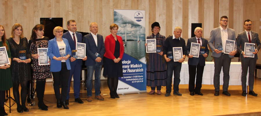 Eko- laury przyznane. Uroczysta gala wręczenia wyróżnień odbyła się  w piątek 13 grudnia