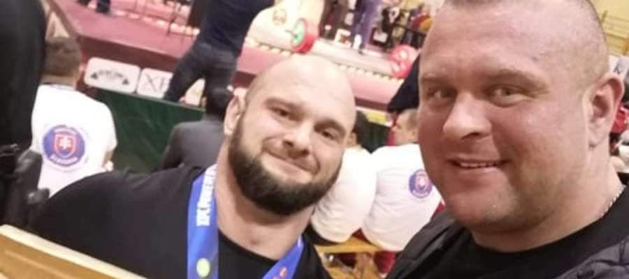 Paweł Gębusiak (z lewej)