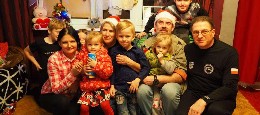 Zarząd GRHLC Mława wraz z mławską rodziną