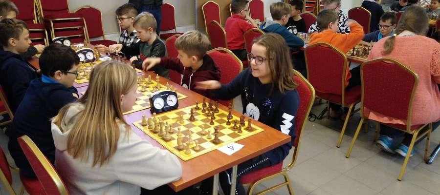 W igrzyskach rozegranych w ostródzkim CUP rywalizowało 13 szkolnych reprezentacji