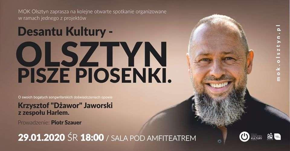 Olsztyn Pisze Piosenki. Spotkanie z Krzysztofem Dżaworem Jaworskim - full image