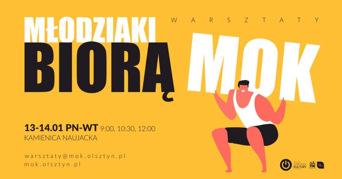 Olsztyński MOK wezmą w swoje ręce młodzi - full image