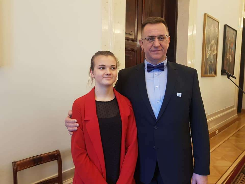 Henryk Pach i Natalia Kalwińska