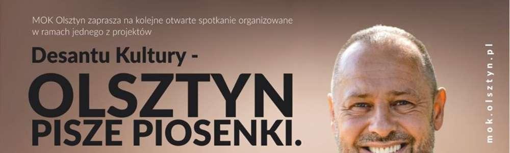 Olsztyn Pisze Piosenki. Spotkanie z Krzysztofem Dżaworem Jaworskim