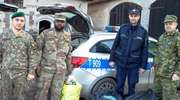 W akcję zbiórki nakrętek dla Poli włączyli się żołnierze wojsk NATO