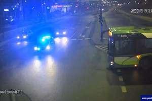Stan dziecka nagle się pogorszył. Policyjna eskorta do szpitala w Olsztynie [VIDEO ITS]