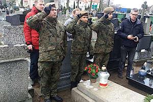 Porucznik Franciszek Klonowski, uczestnik Powstania Styczniowego w 1863 roku spoczywa na cmentarzu w Nowym Mieście.
