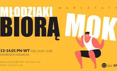 Olsztyński MOK wezmą w swoje ręce młodzi