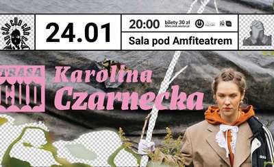 Karolina Czarnecka z rap-folkową płyta w Olsztynie
