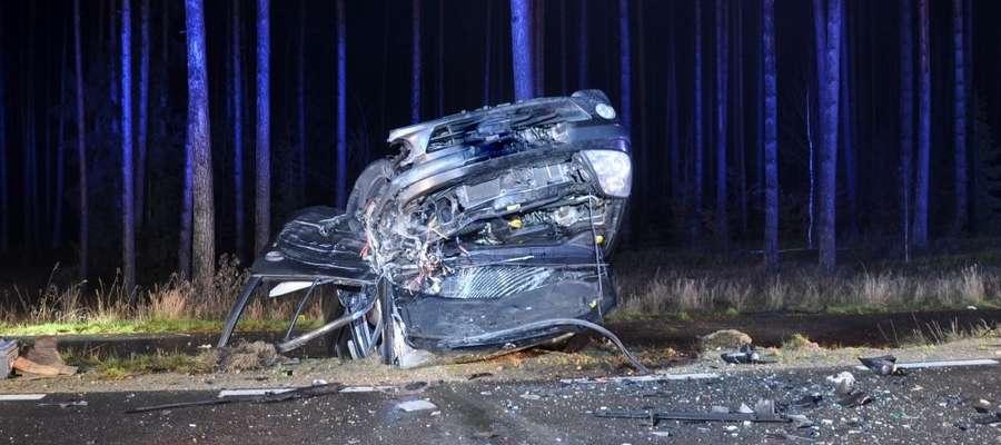 Do wypadku doszło na trasie Pisz-Turośl