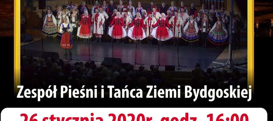 Zespół Pieśni i TaĶca Ziemia Bydgoska wystąpi w Kurzętniku