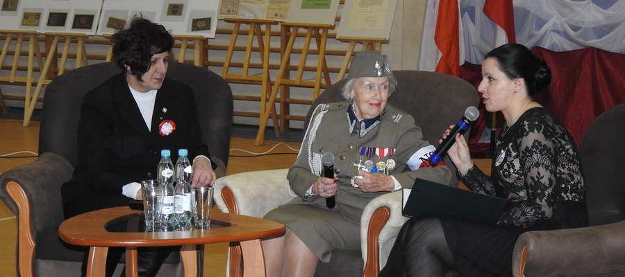 Ciekawa była relacja majora Marii Biedermann - Kowalewskiej