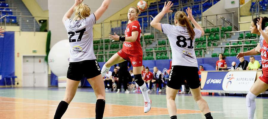 Aliona Szupyk rzuciła w Kobierzycach dziewięć bramek, ale Start i tak poniósł drugą porażkę w tym roku