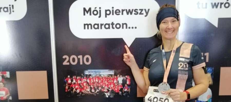 Teresa spełniła swoje marzenie i ukończyła swój pierwszy w życiu maraton