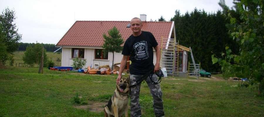 Tomasz Kowalcze w Lamkowie znalazł swoje miejsce na ziemi