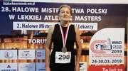 29 Halowe MP Masters Toruń 2020 – złoto Barbary Woroniec