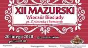 XII Mazurski Wieczór Biesiadny