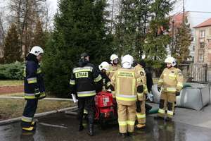 Oleccy strażacy szkolą swoich kolegów z OSP