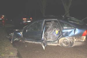 Wypadek samochodowy pod Załężem [OFICJALNE INFORMACJE]