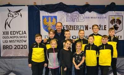 """Udany debiut uczniów ,,Trójki"""" w Ogólnopolskiej Lidze Mistrzów BRD 2020"""