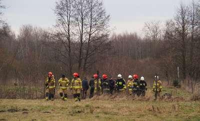 Strażacy wyciągnęli ze stawu ciało mężczyzny