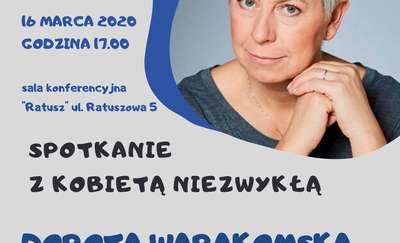 Spotkanie z kobietą niezwykłą - Dorotą Warakomską w Miejskiej Bibliotece Publicznej w Lidzbarku Warmińskim