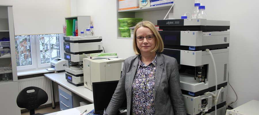 Dr hab. Danuta Zielińska, prof. UWM – Kierownik Katedry Chemi